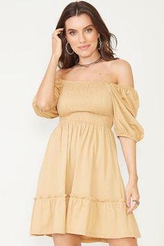 Ideias Fashion, Shoulder Dress, Dresses, Vestidos, Women's, Dress, Gown, Outfits, Dressy Outfits