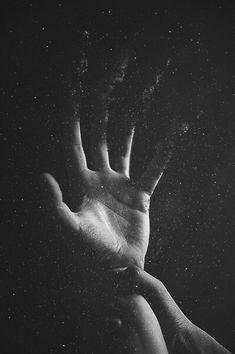 aesthetic, art, black and white, blackandwhite, dark, grunge, hand, hands, punk, soft grunge, soft punk, softgrunge, space, stars, universe, wrist, softpunk