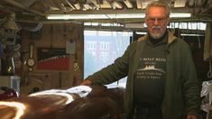 BBC News - The last wooden racing boat builder