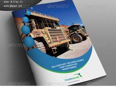 Free Custom Vector Brochure By MARKBARTLE Graphic Arts - Construction brochure templates