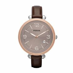 Fossil Damen-Armbanduhr Analog Leder ES3132: Fossil: Amazon.de: Uhren