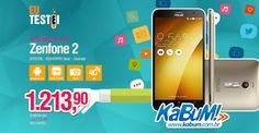 Hoje temos Zenfone 2, pessoal! Um preço bom pra um ótimo custo benefício. O melhor nessa faixa de preço, aliás. :)  Relembre a resenha: https://www.youtube.com/watch?v=jBqtp5qJ91c&feature=youtu.be  Preço e onde comprar: R$1214 - Dourado - Kabum - http://www.kabum.com.br/link/184/66363 (O Kabum é o nosso parceiro oficial, compre com eles e incentive quem incentiva nosso trabalho!)