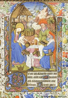 Book of Hours, M.63 fol. 45r - Images from Medieval and Renaissance Manuscripts - The Morgan Library & Museum