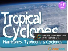In this presentation, students will learn about a hurricane's formation, learn about the differences between hurricanes, typhoons and cyclones, and learn about the impact of storms. Find this and much more for free on the Nearpod Store in the Nearpod app www.nearpod.com or download it here http://np1.nearpod.com/sharePresentation.php?code=c5f2526ec20665b764d42a9f90e75cff