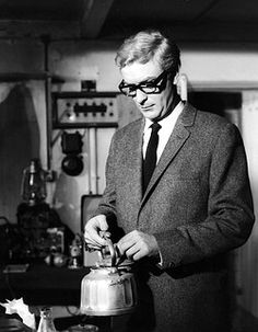 THE IPCRESS FILE MICHAEL CAINEas Harry Palmer