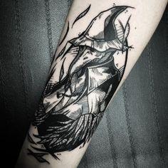Eileen The Crow Tattoo. - ImaginaryDarkSouls Eileen The Crow Tattoo. Crow Tattoo For Men, Crow Tattoo Design, Tattoo Designs, Tattoo Ideas, Soul Tattoo, Tattoo Now, Big Tattoo, Gamer Tattoos, Anime Tattoos