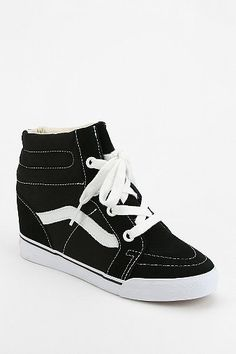 Vans SK8-Hi Hidden Wedge High-Top Sneaker  Forget all the other sneaker wedges this is the pair i want.