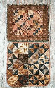 "Country Threads ""Scorched"" Doll Quilts Pattern"