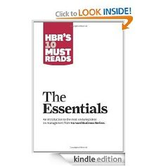 HBR's 10 Must Reads-The Essentials #business #leadership