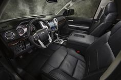 A new interior is one of the most significant changes for the 2014 Toyota Tundra.