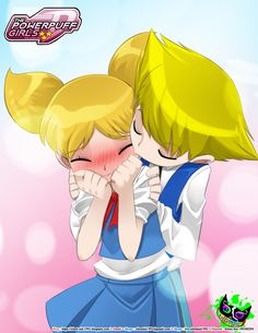 Powerpuff Girls Doujinshi - Bubbles X Boomer by Silent-Sid on DeviantArt Powerpuff Girls D, Powerpuff Girls Wallpaper, Cuddling Gif, Bubbles And Boomer, Valentine Drawing, Super Nana, Cartoon Network, Cute Tumblr Wallpaper, Ppg And Rrb