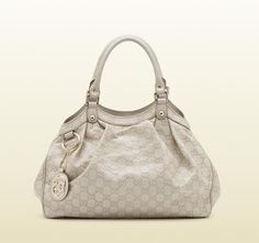 8/30/2012 Luxury Collection $999.00  + FREE SHIPPING Gucci Sukey Guccissima White Leather Tote - Medium
