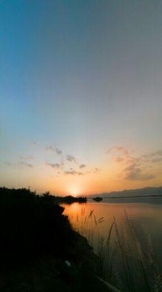 Love the sunset, peace & peace everywhere at Rawal lake Islamabad