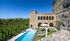 La Bastide de Gordes consists of 39 bedrooms and suites. It is located in Provence, Gordes and is one of the region's newest hotels.