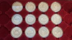 "2013 Belarus 20 Rub Silver coin /""St Sergius of Radonezh/"""