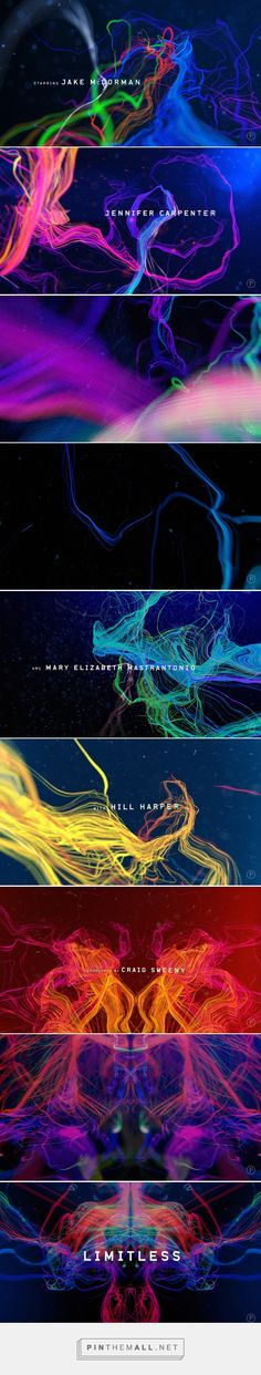Limitless: Main Title Sequence on Behance... - a grouped images picture - Pin Them All