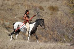 South Dakota Native American Artists | ... Native American Indian on horseback on the reservation in South Dakota