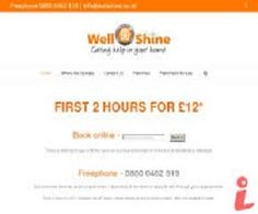 If you live in Greenwich and need professional and affordable cleaning service you can hire our wellshine professional Greenwich domestic cleaners. Our Cleaning service in Greenwich offers a full range of our cleaning services in including Regular Domestic Cleaning. For more info visit us at- http://www.wellshine.co.uk/cleaners-greenwich/
