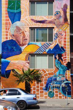San Francisco Street Murals