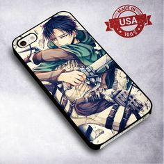 Double Swords Attack On Titan - For iPhone 4/ 4S/ 5/ 5S/ 5SE/ 5C/ 6/ 6S/ 6 PLUS/ 6S PLUS/ 7/ 7 PLUS Case And Samsung Galaxy Case