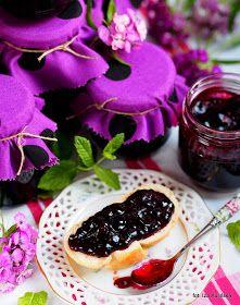 galaretka-z-czarnej-porzeczki Cheesecake, Food And Drink, Pudding, Fruit, Blog, Recipes, Lawn And Garden, Cheese Pies, Puddings