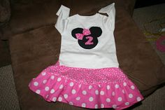 Planning a Minnie Mouse Birthday Party - Minnie Mouse Outfit