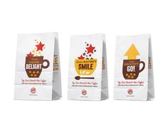 Burger Kings Partnership With Seattle's Best Coffee - The Dieline -