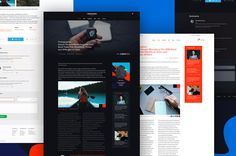 Multicolor UI Kit by Amirzanuly on @creativemarket