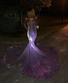 Dazzling Shimmer Purple Strapless Plunging Neckline Mermaid Prom Dress with Long Train Sparkly shine shimmer purple strapless plunging neckline floor length mermaid prom dress with long train Gorgeous dazzling luminescent material prom gown Black Girl Prom Dresses, Cute Prom Dresses, Prom Outfits, Mermaid Prom Dresses, Homecoming Dresses, Sexy Dresses, Bridesmaid Dresses, Light Purple Prom Dress, Gorgeous Prom Dresses