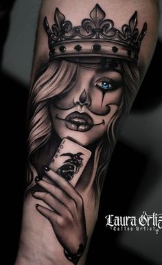 100 Male Forearm Tattoos for Inspiration Tattoo Girls, Skull Girl Tattoo, Girl Face Tattoo, Clown Tattoo, Girl Arm Tattoos, Body Art Tattoos, Skull Candy Tattoo, Neck Tattoos, Grey Tattoo