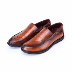 332.00$  Watch now - http://ali2hy.worldwells.pw/go.php?t=32735239721 - TERSE_Holy shit handmade leather shoes mens genuine leather dress shoes with engraving flats shoes in orange custom logo service