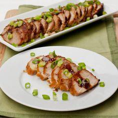 {Recipe} Asian Marinated Pork Tenderloin