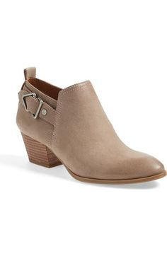 SARTO by Franco Sarto 'Garfield' Western Bootie (Women) available at #Nordstrom  color:  mushroom leather