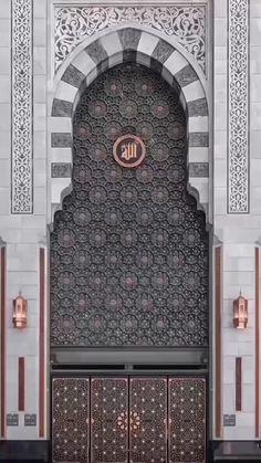 Islamic Wallpaper Iphone, Quran Wallpaper, Mecca Wallpaper, Images Wallpaper, Live Wallpapers, Architecture Courtyard, Art Et Architecture, Mosque Architecture, Minimalist Architecture