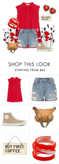 """""""Gardening"""" by blumbeeno ❤ liked on Polyvore featuring Tory Burch, River Island, Chloé, Gucci, Christian Lacroix and Chanel"""