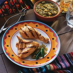 Serrano Pepper Grilled Chicken Recipe from Land O'Lakes