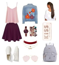 A fashion look from June 2016 featuring tie shirt, denim jacket and mini skater skirt. Browse and shop related looks. Citizens Of Humanity, Aphrodite, Percy Jackson, Charlotte Russe, Polyvore Fashion, Style Me, Gap, Kate Spade, Topshop
