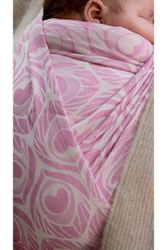 Artipoppe newborn woven cashmere wrap in baby pink. Cashmere Wrap, Woven Wrap, Small Baby, Babywearing, House Design, Pink, Woven Wrap Carries, Baby Slings, Architecture Illustrations
