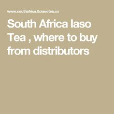 South Africa Iaso Tea , where to buy from distributors South Africa, Tea, Teas