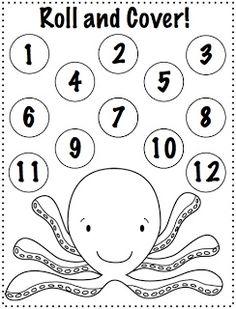 Crazy Speech World: Ocean Animals {Freebie!}  4 activities to print and play!