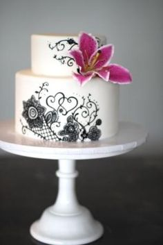 wedding cakes by beanietot