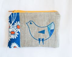 Machine embroidery design, Bird of Triangles, Meringue Designs