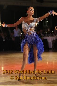 Blue and silver latin ballroom dress Latin Ballroom Dresses, Ballroom Dancing, Ballroom Costumes, Dance Costumes, Latina, Baile Latino, Salsa Dress, Salsa Dancing, Dance Fashion