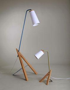 Vi lamp series by Linda Falang Design andAne Domaas