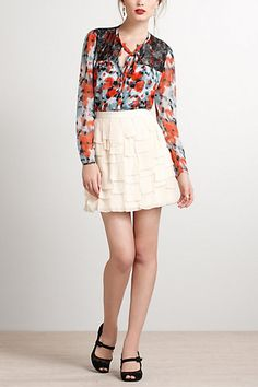 Abigail Blouse - Anthropologie