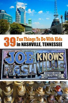 39 Fun Things To Do With Kids in Nashville, Tennessee