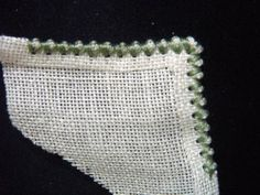 Whitework Embroidery: Smalll Hardanger Projects  Edging Tutorial
