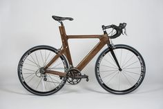 Walnut Wood (triathlon) Bicycle Frame #bike #woodworking #SolidWorks