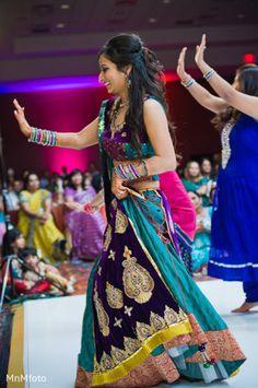 An Indian bride has a blast at her sangeet!