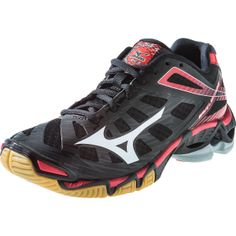 mizuno volleyball shoes | Mizuno Wave Lightning RX3 Women's Volleyball Shoes - Black/Red